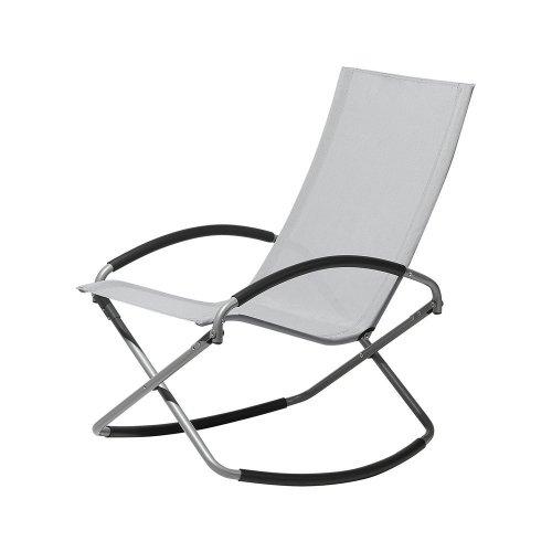 Folding Garden Chair Grey CASTO