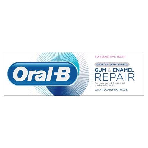 Oral-B Gum & Enamel Repair Gentle Whitening Toothpaste, 75 ml