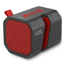 Travel Inspira Portable Speaker – IPX6 | Mini Waterproof Wireless Speaker