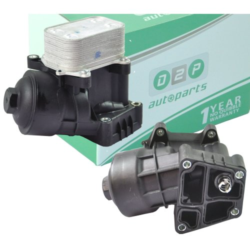 OIL FILTER HOUSING WITH COOLER FOR SKODA FABIA II VW POLO SEAT IBIZA V 1.2 TDI