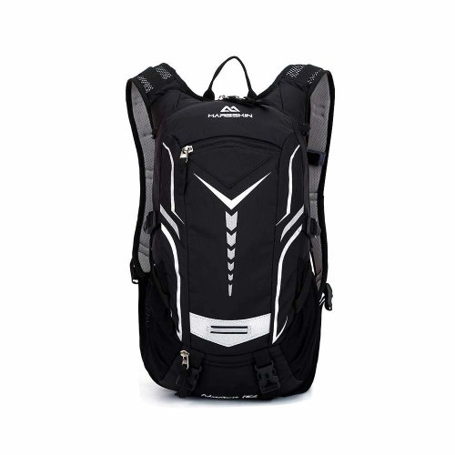 VANSUP Bike Backpack Cycling Rucksack Mens 18L Waterproof Bicycle Bike Backpack Sports Ridding Backpack - Black