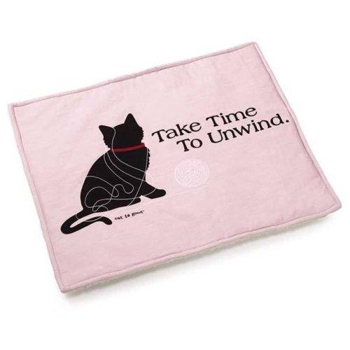 Cat Is Good Cat Mat Pink