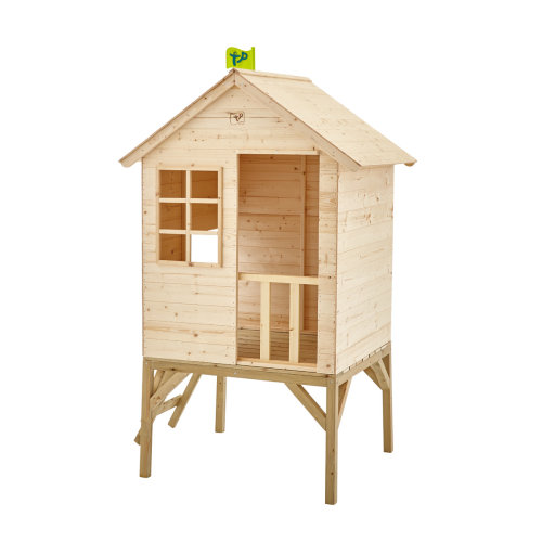 TP Toys Sunnyside Wooden Tower Playhouse Ages 18 Months+