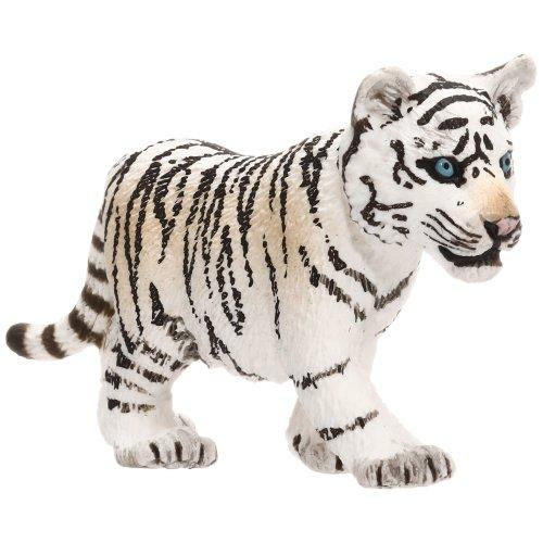 Schleich 14732 - Wild Life Tiger cub, white