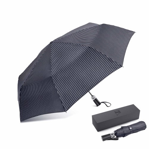 b2cafdacee01 boy® Compact Umbrella Windproof Waterproof, Fast Drying Travel Umbrella  Automatic Unbreakable Umbrella,Auto Open & Close,Blue Stripes