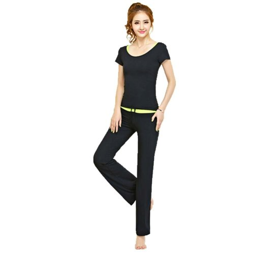 Womens Dance Clothes Yoga Wear Set 3 Pieces Fitness Yoga Clothing Dance Outfit