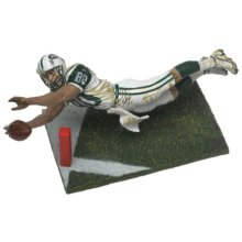 McFarlane Toys NFL Sports Picks Series 2 Action Figure Wayne Chrebet (New York Jets) White Jersey