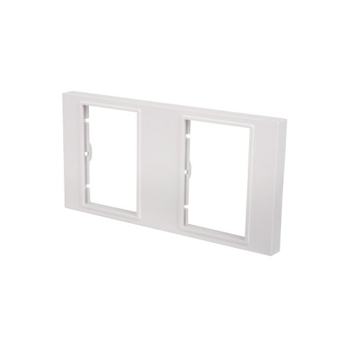 Double Gang Wallplate Frame