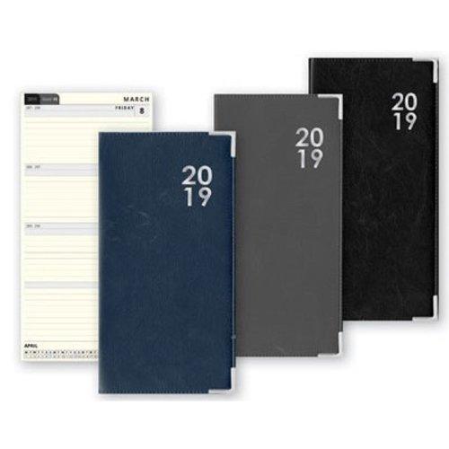 2019 Slimline Week To View PVC Diary Home Office Student WTV W2V Slim Softback