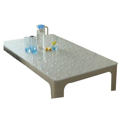 Upscale Transparent Rectangular Table Mat Tablecloth Durable Dest Pad,60*120cm