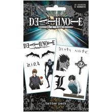 Death Note Characters & Icons Tattoo Pack