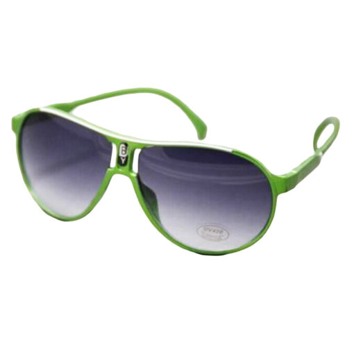 Outdoor Cool Eyeglasses UV Prevention Cycling Sunglasses For Children-Green