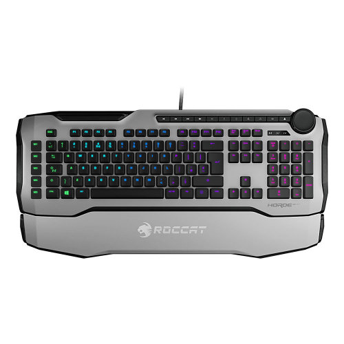 ROCCAT Horde Aimo Membranical RGB Gaming Keyboard, UK Layout, White (ROC-12-352-WE)