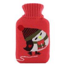 Warm Cute Hot-Water Bottle Water Bag Water Injection Handwarmer Pocket Cozy Comfort,O