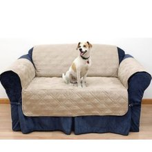 Quilted 2-Seater Sofa Protector | Water-Resistant 2-Seater Cover