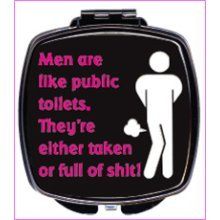 Men Are Like Compact Mirror