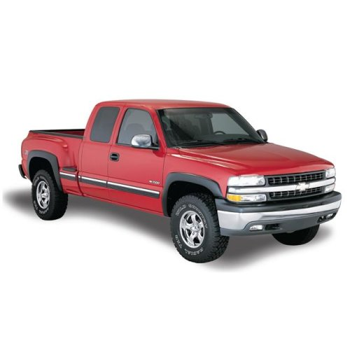 Bushwacker BUS40909-02 69.3 in. Bed Pocket Style Fender Flares for 2019 GMC Sierra 1500 - Set of 4