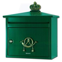 Brabantia B210 Classic Style Post Box - Green