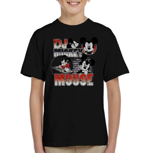 Disney DJ Mickey Mouse Kid's T-Shirt