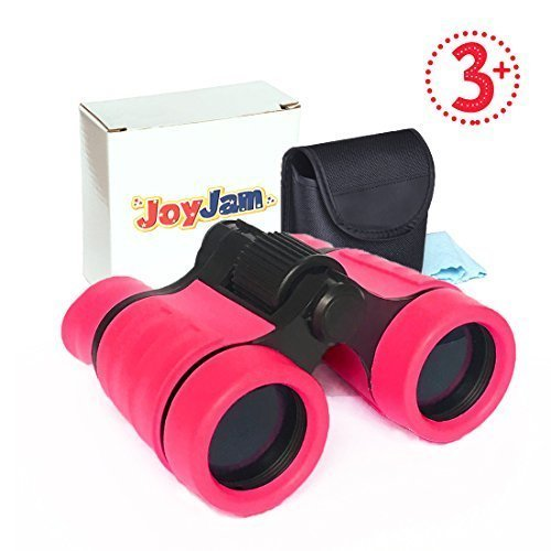 Toys For 4 Year Old Girls JoyJam Small Compact Binoculars Kids 5 Travel And Outdoor Play Christmas Birthday Gifts Pink On OnBuy