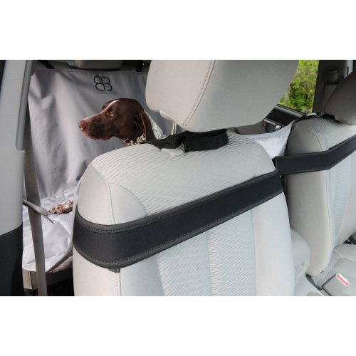 "Petego Xl Rear Car Seat Protector Hammock 59.5""X64.5""-Anthracite"