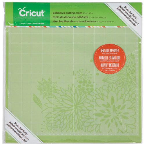 """Cricut Cutting Mats 12""""X12"""" 2/Pkg-StandardGrip"""