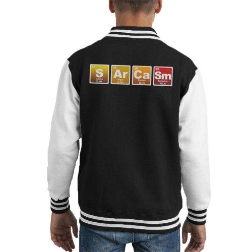 Sarcasm Periodic Table Elements Kid's Varsity Jacket