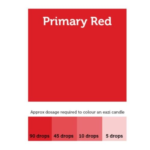 EaziCandle Primary Red High Intensity Liquid Candle Dye