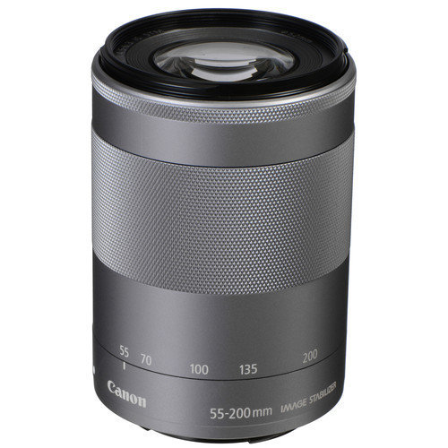 CANON EF-M 55-200mm F4.5-6.3 IS STM Silver (No box)