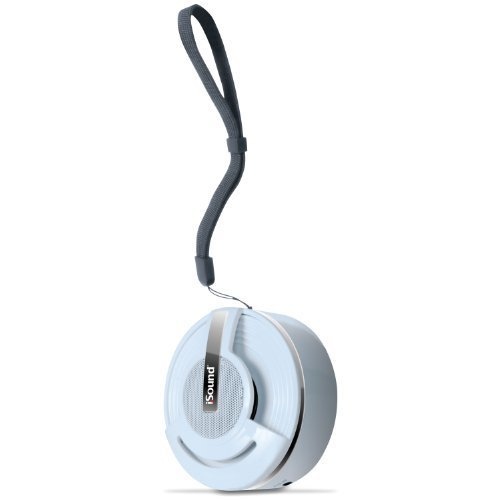 i Sound Hang On Bluetooth Speaker with Microphone White