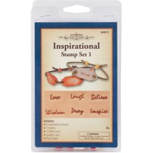 Leathercraft Kit-Inspirational Stamp Set #1