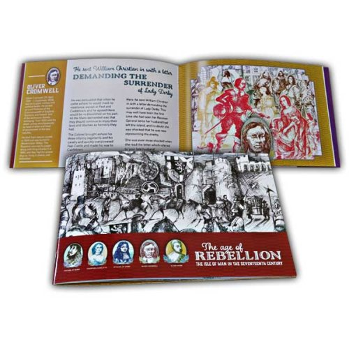Isle of Man 2019 Stamps The Age of Rebellion Prestige Booklet (Mint)