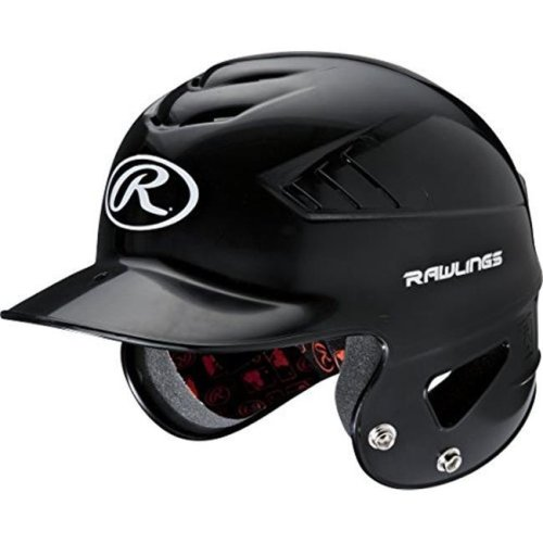 Coolflo NOCSAE Molded Batting Helmet - Black, One Size
