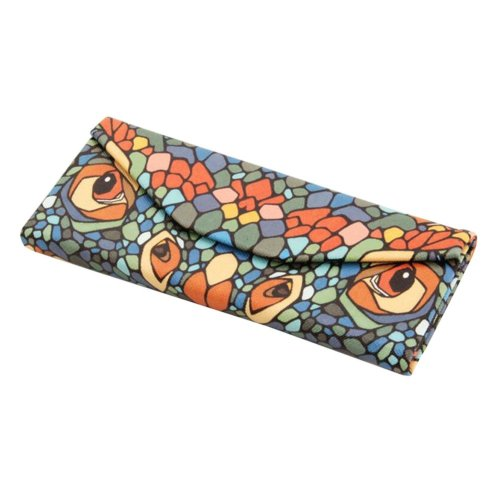 Foldable Triangular Eyeglass Sunglass Storage Case