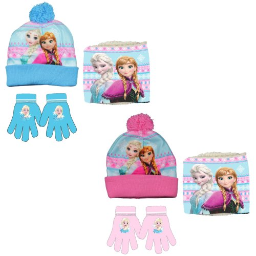 Disney Frosen Hat, Snood and Gloves