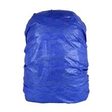 Water-proof Dust-proof Backpack Cover Rucksack Rain Cover Wave Navy