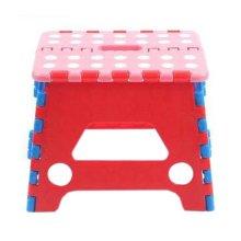 Creative Plastic Foldable Step Stool Portable Folding Stools Stepstool for Kids & Adults, No.5