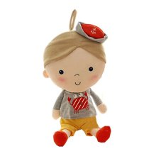 Huggable Baby Kid Child Cute Soft Stuffed Toy Baby Toys Doll Boy,11''