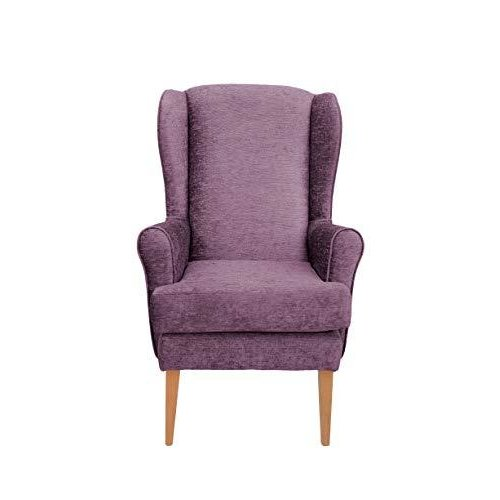 MAWCARE Darcy Orthopaedic High Seat Chair - 21 x 21 Inches [Height x Width] in Darcy Mauve (lc21-Darcy_d)