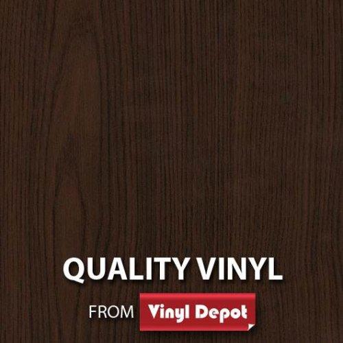 d-c-fix Sticky Decor Self-Adhesive Wood Vinyl Fablon Maron Dark 675mm/m