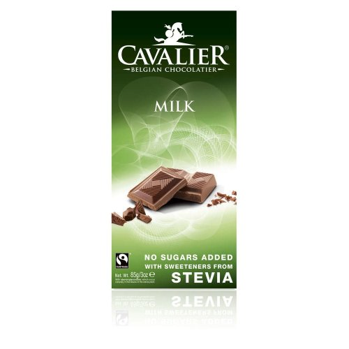 Milk chocolate bar with Stevia by Cavalier