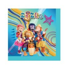 Pack Of 16 Zingzillas Napkins - Amscan Lunch -  amscan lunch napkins zingzillas