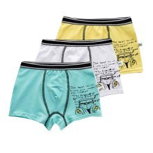 Set of 4 Kids Child Boys Soft Cotton Underwear Briefs