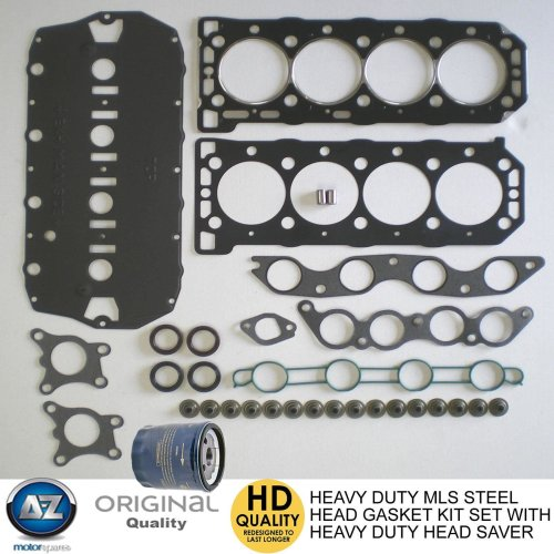 For MG Rover Uprated performance MLS metal head gasket set bolts free oil filter
