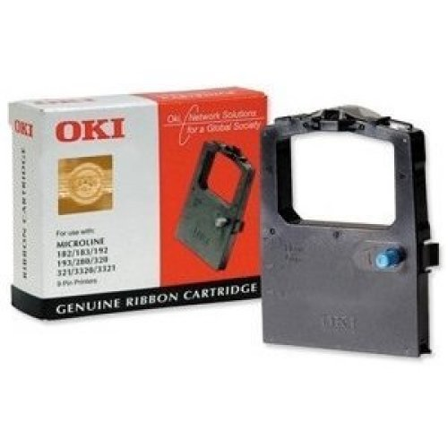 OKI 09002303 Black printer ribbon