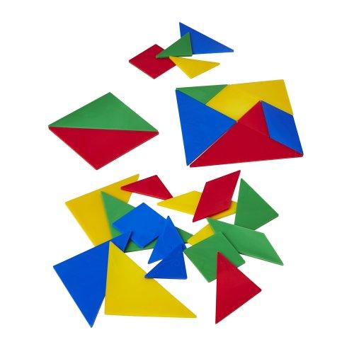 Linex 28-Piece Tangrams Kit