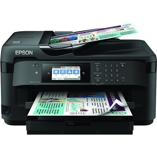 Epson WF-7710DWF WorkForce A3 Wi-Fi Printer, Scan and Copier with Fax