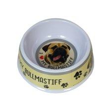 Bullmastiff Dog Bowl