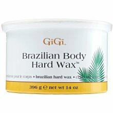 GiGi Brazilian Body Hard Wax, Non-Strip Formula Sensitive, Delicate Areas 396g