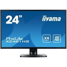 "Iiyama Prolite X2481hs-b1 23.6"" Full Hd Va Matt Black Computer Monitor Led Display"